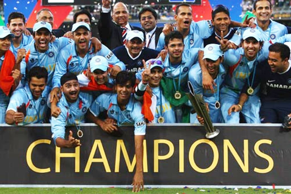 t20 world cup champions