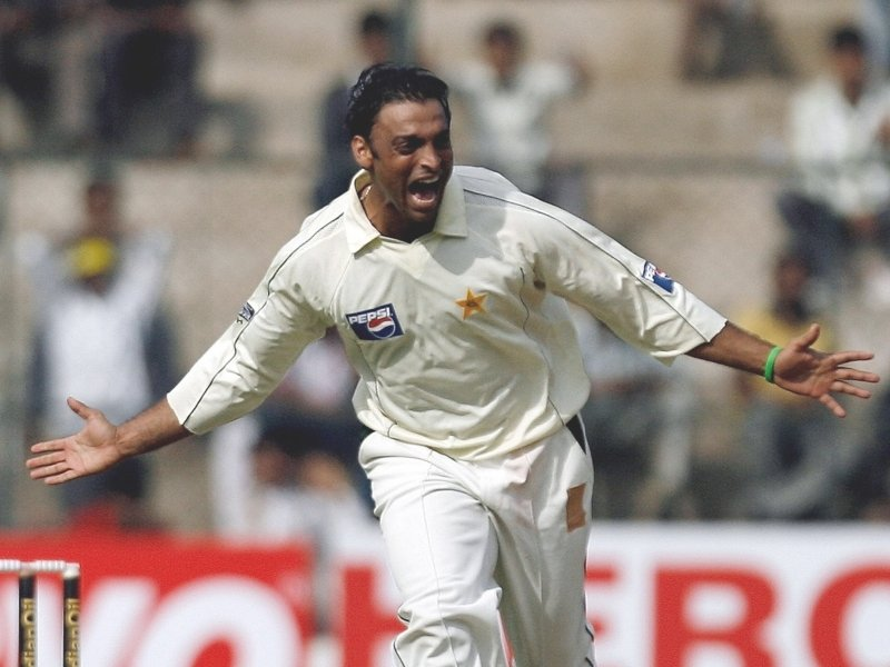 shoaib akhtar tests