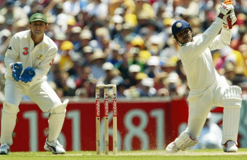 Virender Sehwag Adam Gilchrist 195