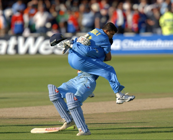 India beats England in Natwest Trophy 2002 Final