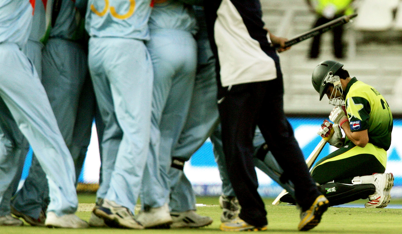Misbah world cup final 2007