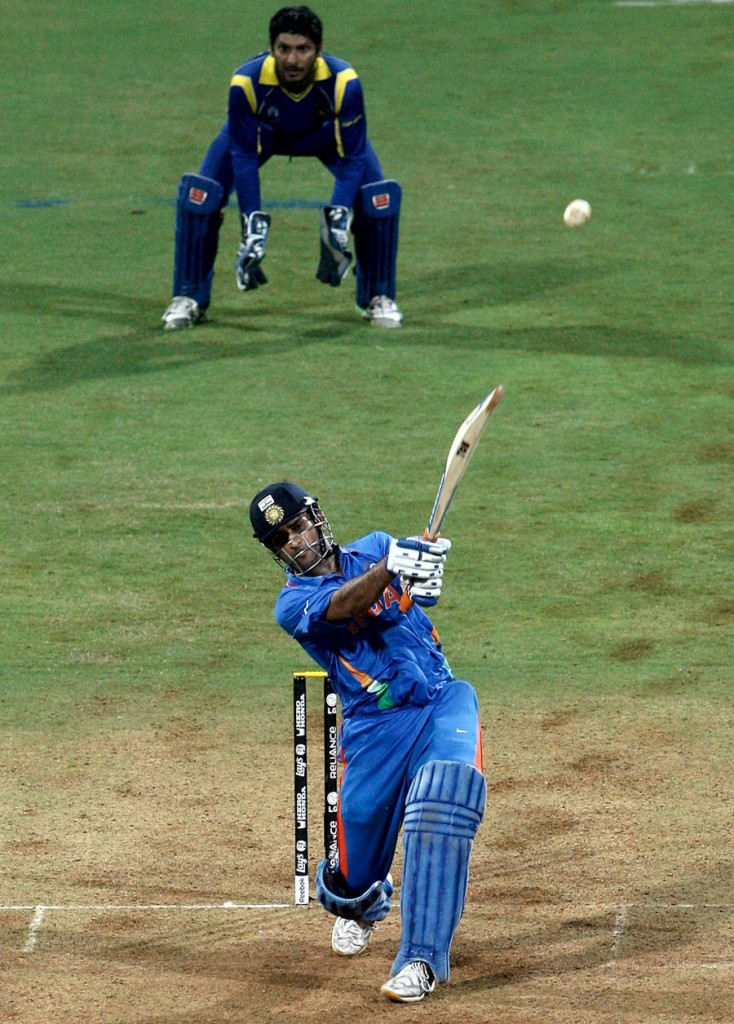 MS Dhoni World Cup 2011 Final Six