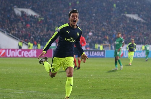 Mesut Ozil Champions League