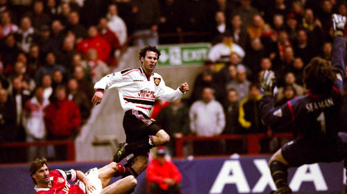 Ryan Giggs FA Cup semi-final goal