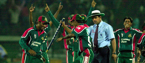 Bangladesh first win over India