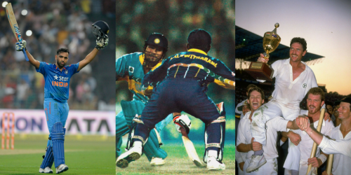 Top 5 ODIs at Eden Gardens