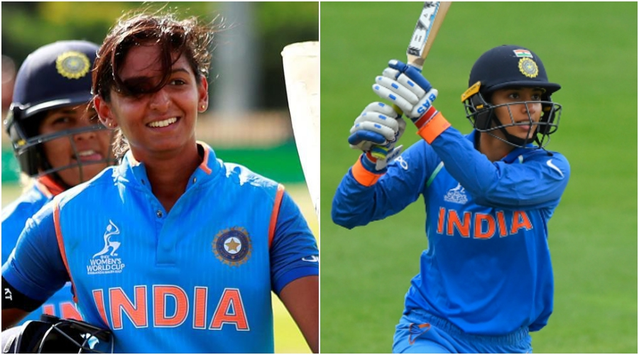Harmanpreet Kaur and Smriti Mandhana